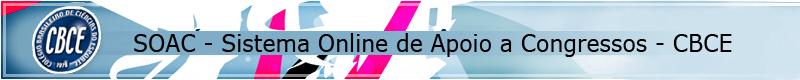 SOAC - Sistema Online de Apoio a Congressos do CBCE